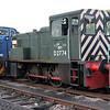 North British 0-4-0DH D2774 at Boat of Garten, Strathspey Railway 25/06/11.