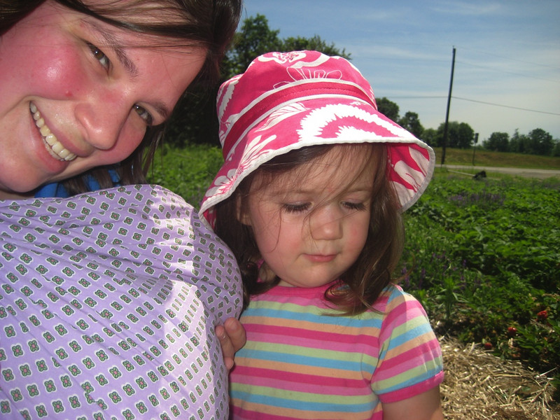 Self portrait: Mama and girls