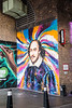 William Shakespeare Mural