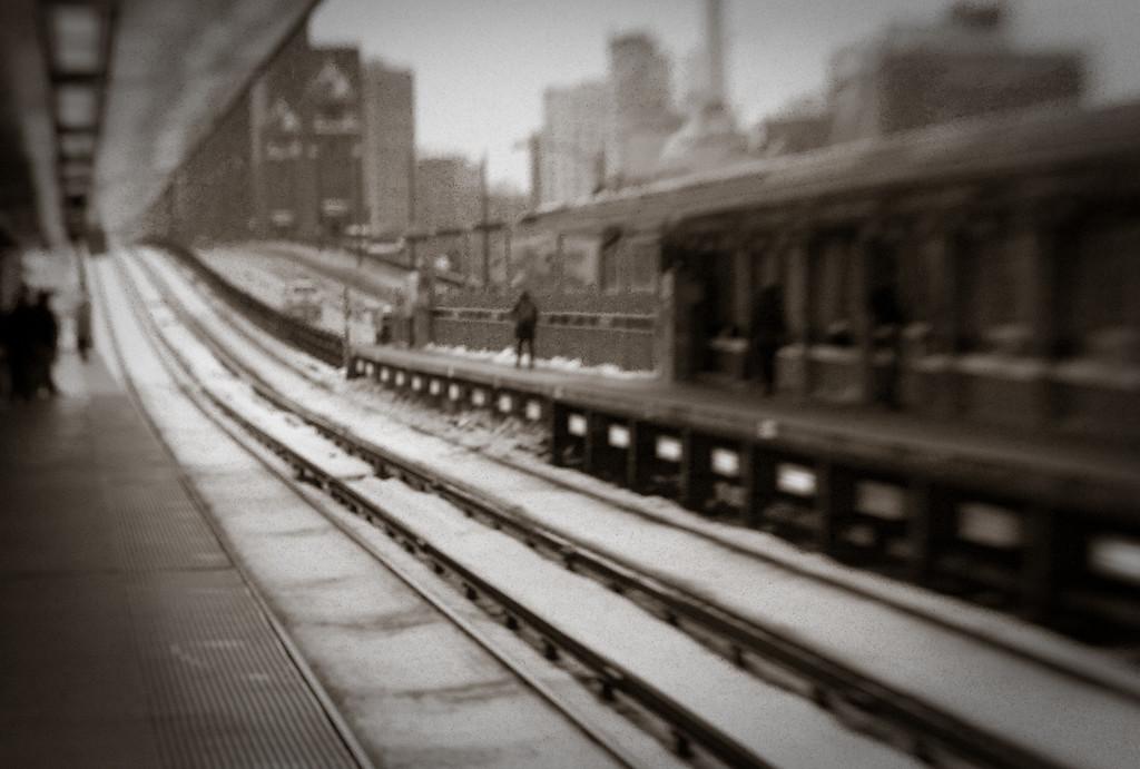 T-Stop, Boston, Xmas Eve