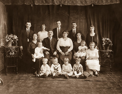 Strobl Family Group & Relatives