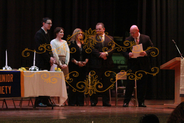 Strough National Jr Honor Society 2012