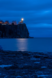 Split Rock Lighthouse - November 2018 Lighting