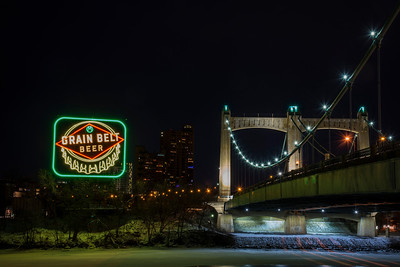 Grain Belt Beer Sign Re-lighting