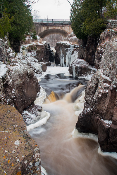 Falls on the Temperance River