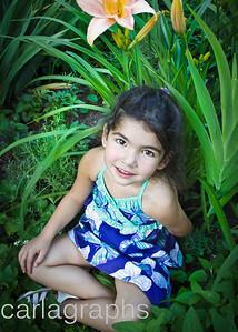 Bella in Foliage-