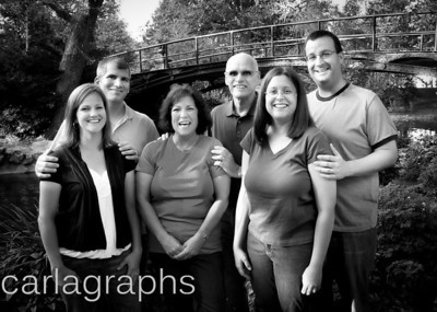 Family Together BW-