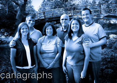 Family Together Blue-