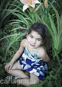 Bella in Foliage Faded-