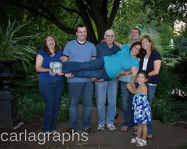 Fam with Linda in Arms - Happy-