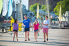 Brian Stumiller and other undergraduates enjoying an afternoon at Canalside in downtown Buffalo<br /> <br /> Photographer: Douglas Levere