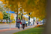 Exterior photos of Main Street by South Campus during fall semester<br /> <br /> Photographer: Douglas Levere
