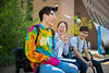 Students on North Campus during the first week of classes<br /> <br /> Photographer: Douglas Levere