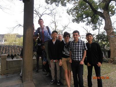 Students Shanghai trip