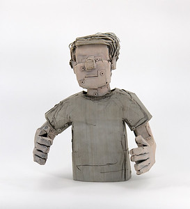 Neil Jeffries sculpture fragment