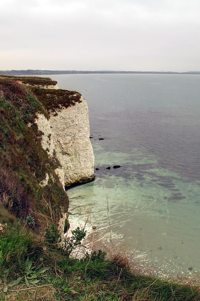 The view back towards Studland from The Old Harry Rocks