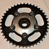 45T rear sprocket and carrier - fits Aprilia Mille & Tuono 99' -09' $50