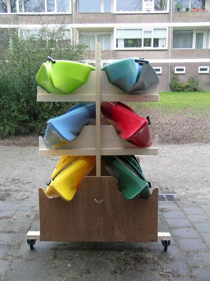 Kayak Rack for Girlguids