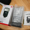 Canon 580ex ii Like new in box w/ pouch, box, manual, foot stand - $425 shipped