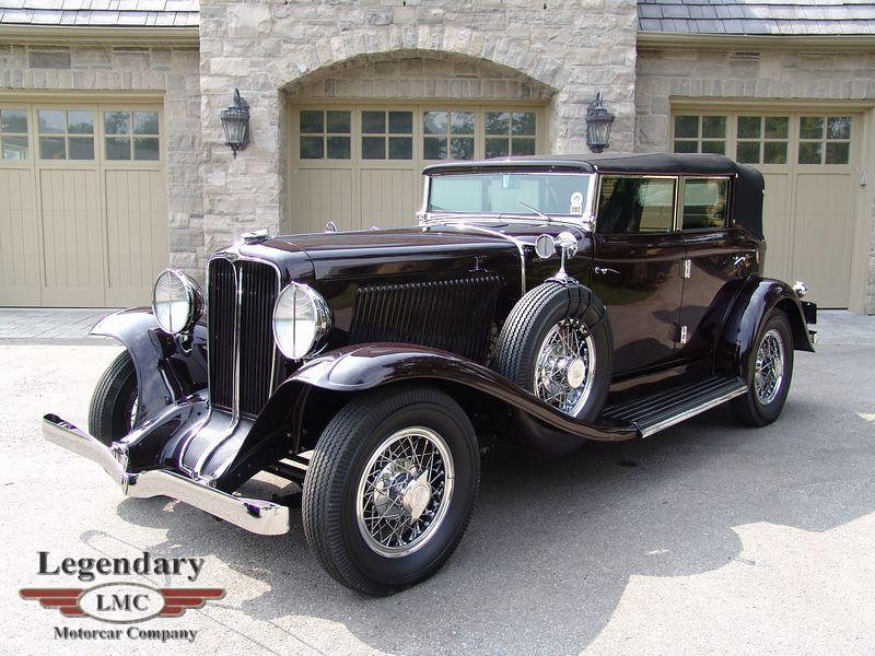 """This is the model car that the number plate is from. This is a very elegant car. The 1931 Auburn 8-98A Phaeton (a convertible) is a prized collector car, and """"continues to benefit from elegant styling and a truly dignified presence,"""" according to the description with this photo."""