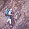 Keith Merson on Las Rodillas (the knees).  Ixta, Mexico 1994