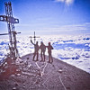 Andy Wright, Barry and Brady Turner on summit.  1992