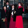 Victorian Xmas carolers