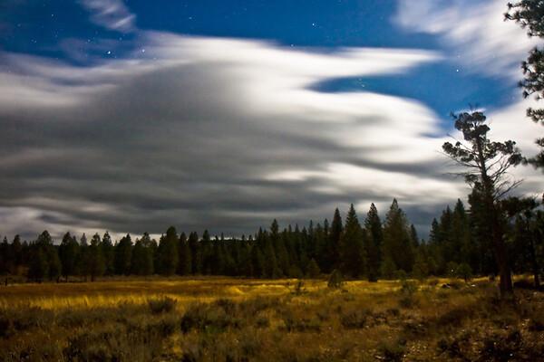 Sierra Valley moonlight