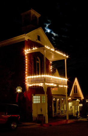 Moon over Nevada City II