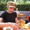 Desayuno en el café del parque zoológico