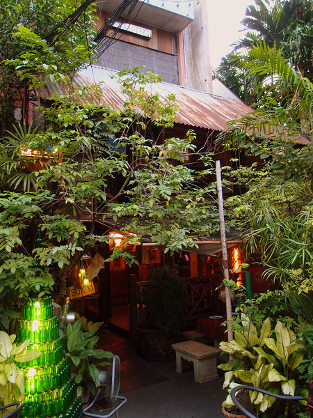 Might be amongst the last of the traditional true Thai restaurants. Suk 11 on Soi 11 opp the Ambassador in Na Na