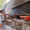 Down near the Klong before Pethburi I found this commercial kitchen