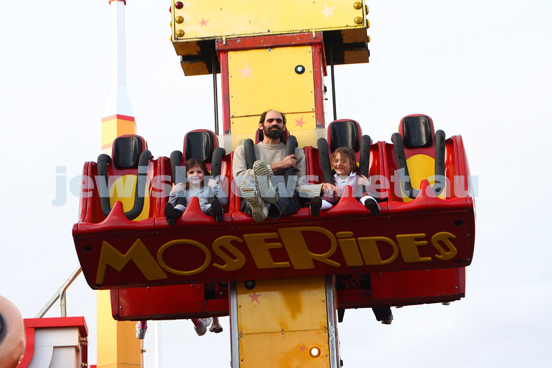 Chabad Youth. Sukkot at Luna Park 2009. photo: peter haskin