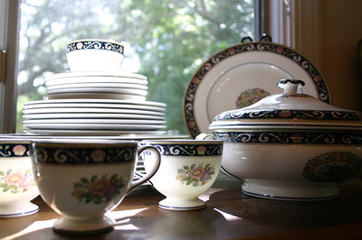 Wedgewood china service