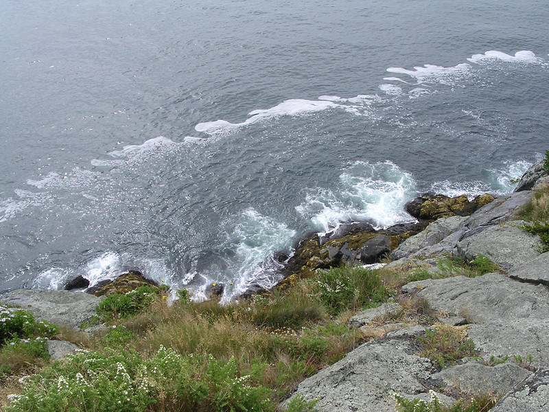 Trip to Monhegan island for the day with Beth