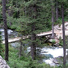One of many bridges crossing Cascade Canyon.