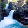 Saint Mary's Falls - Glacier National Park