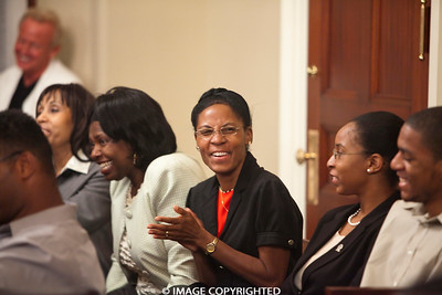 Aug. 19, 2011. Boston, MA. 24th Commonwealth Seminar graduation at the State House. Boston City Councilor Ayanna Pressley is the keynote speaker. © 2011 Marilyn Humphries