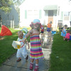 8/2/11<br /> Eve dumps some more water at the block party