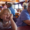 Eve and Dorothy on our St. Croix river cruise.