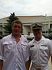 Brandon and Garrett at Navy