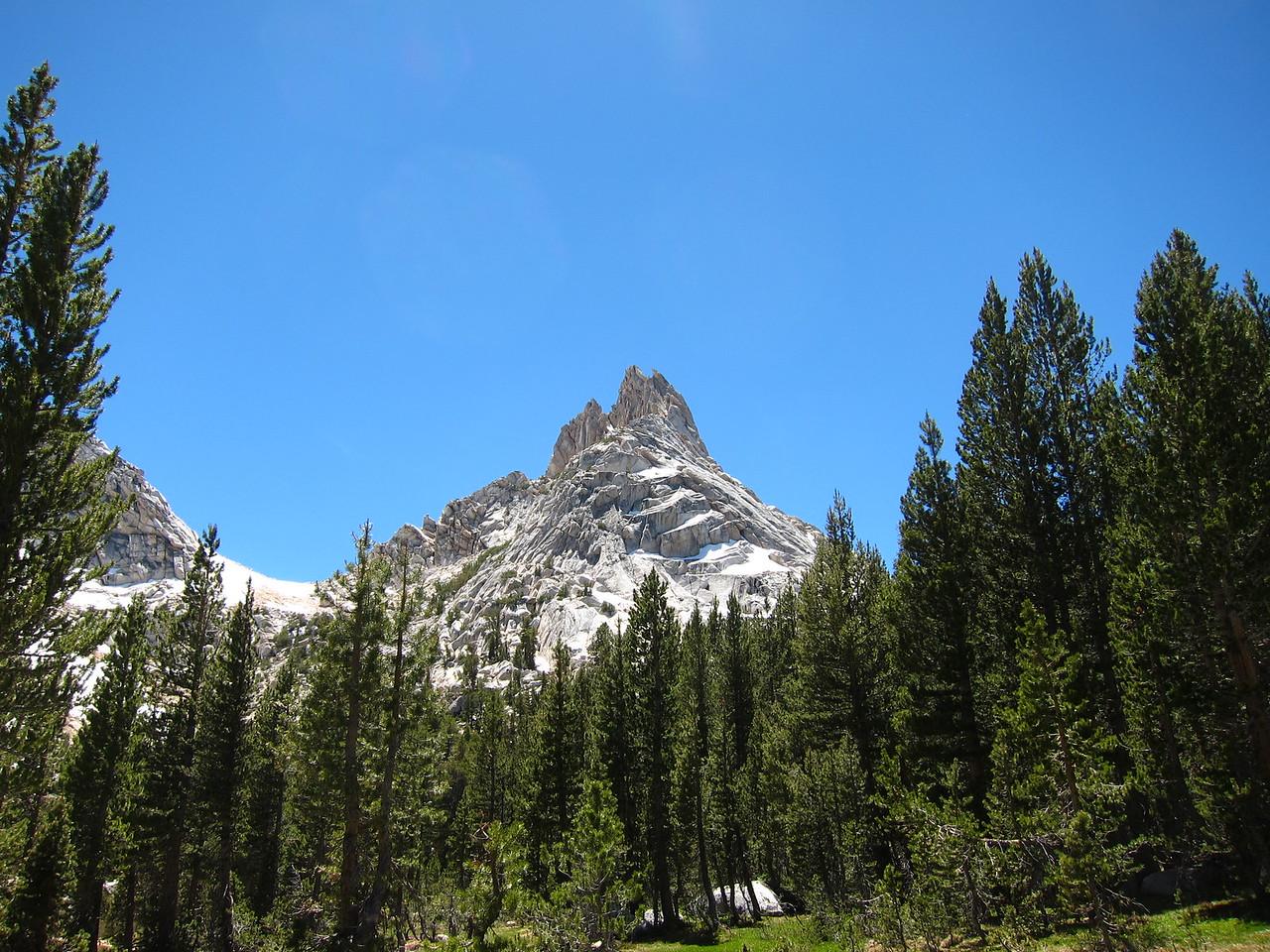 Ragged Peak, by Young lake