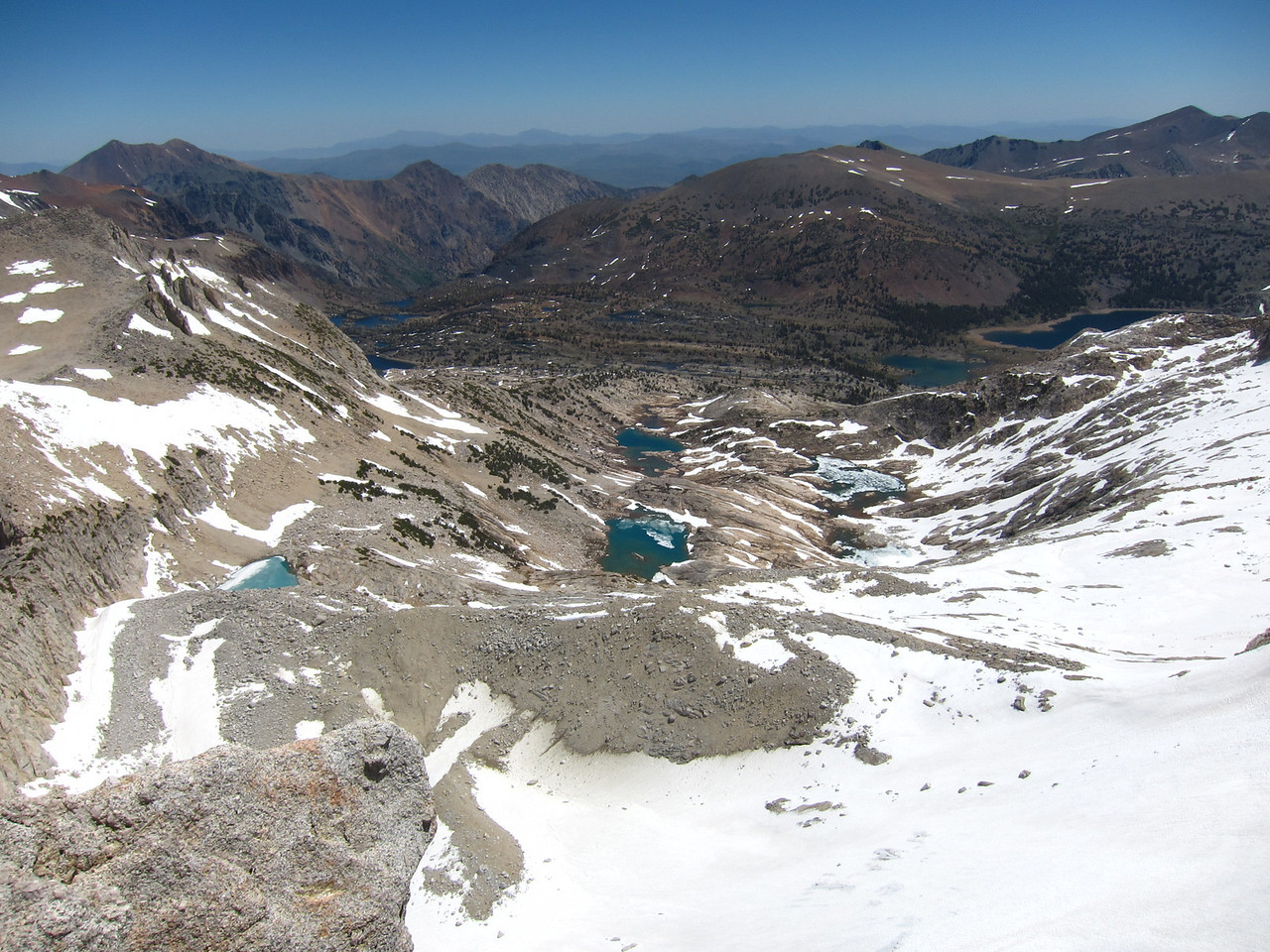 From the top of Conness