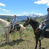 Horse back at Redfish Lake, Idaho. June 2014.