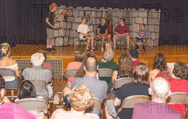 Summer Act Theater Group July 13, 2018 Performance