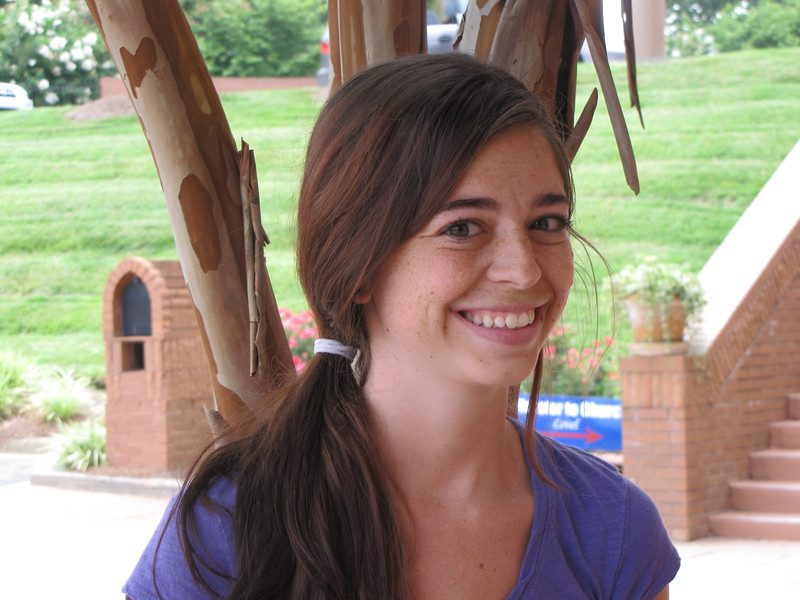 Carolynn Prisco<br /> Saint Mary's College<br /> <br /> Carolynn Prisco is from Chicago, Illinois, where she graduated from Evergreen Park Community High School. She is a rising senior at Saint Mary's College where she is double majoring in Communicative Disorders and Psychology. After completion of her majors she plans on attending grad school in order to become a Speech-Language Pathologist.<br /> <br /> Carolynn has always loved playing with children since she was a young child. She has babysat for neighbors and family friends since she was in middle school. During high school she continued to babysit, but then began teaching gymnastics to children and was a camp counselor during the summer.<br /> <br /> After entering into college she became a member and began volunteering for Circle K, Autism Speaks, her college's National Student Speech and Hearing Association. Carolynn also is a Resident Advisor, meaning she is responsible for her fellow classmates on the floor by ensuring their safety and positively impacting their experience. In her free time she enjoys arts and crafts, reading, going to zoos and aquariums, music and spending time with friends. She is very excited to be a part of the Speech Garden this summer.