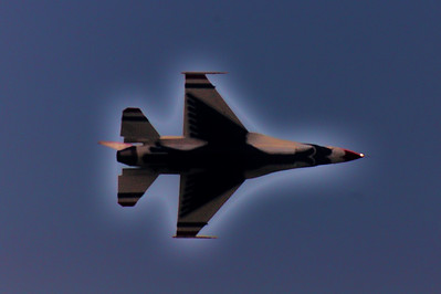 Air show at the Jersey Shore