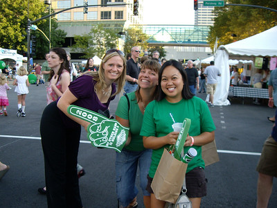 Mary, Sherri and me at the Irish Fest in Kansas City.