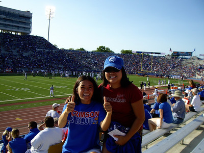 Sarah and I went to the KU hope opener against Florida International.