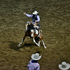 Cody Rodeo Bronc Riding